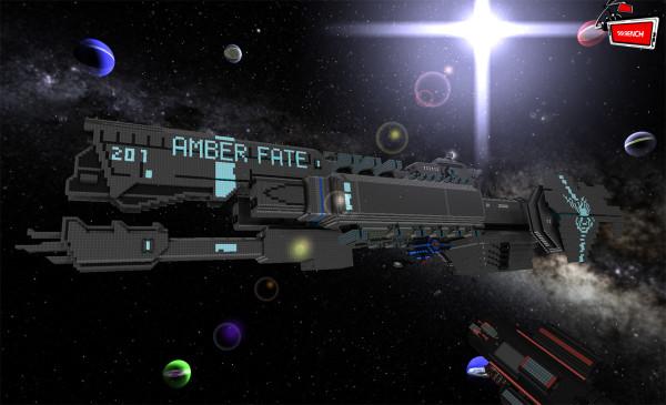 Starmade ship 1