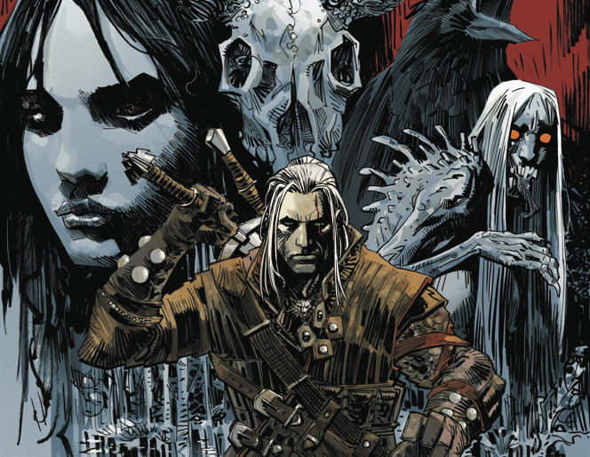 The Witcher Comic Revealed