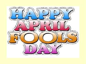 April Fools – Game Out Loud #83