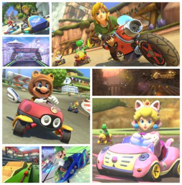 Mario Kart 8 gets Zelda and Animal Crossing DLC