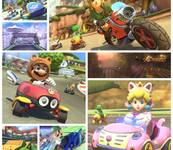 Mario Kart 8 gets Zelda and Animal Crossing DLC