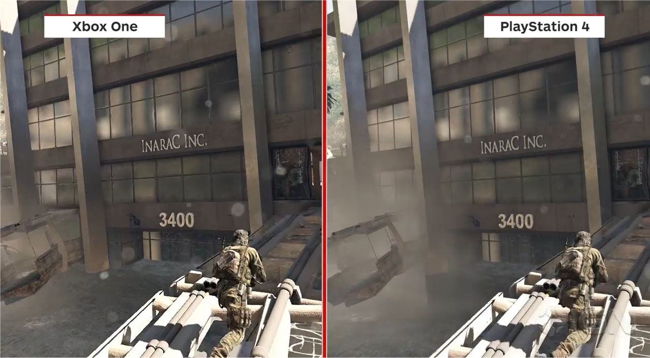 Call of Duty comparison