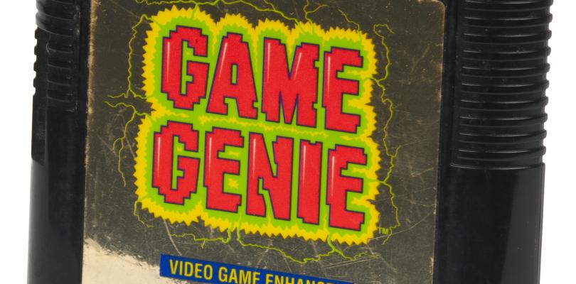 Sega Game Genie