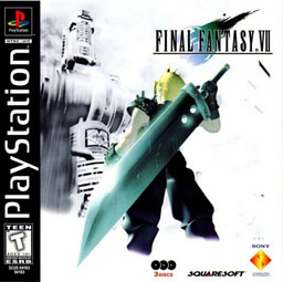 FInal Fantasy VII PS1 Boxart