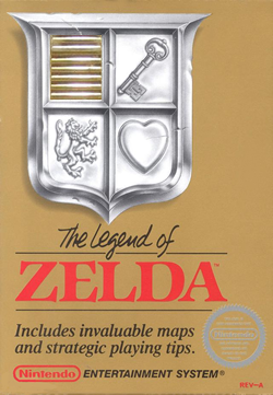The Legend of Zelda NES Box Art