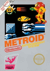 Metroid NES Box Art