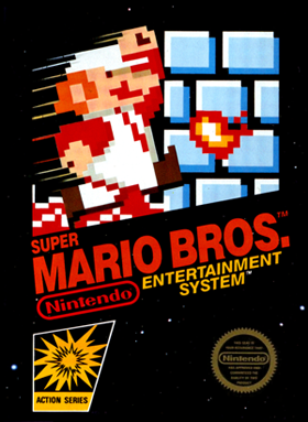 Super Mario Bros. NES Box Art