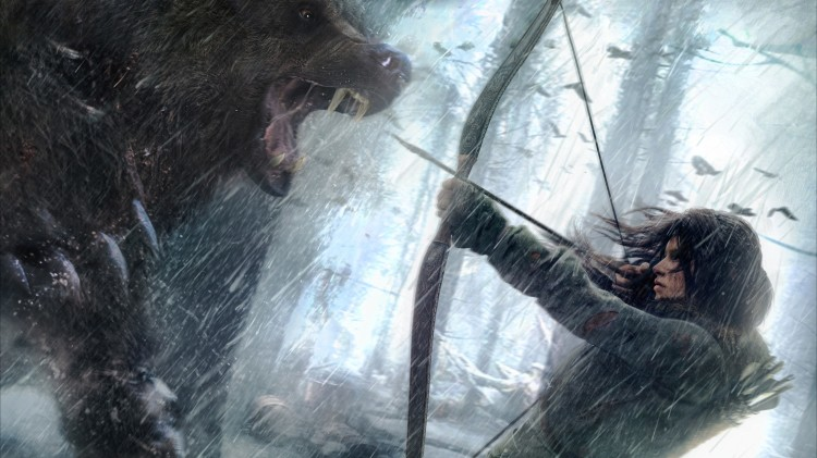 rise_of_the_tomb_raider-lara_croft-fighting-bear-art-3840x2160
